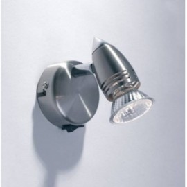 Gemini wall bracket satin chrome