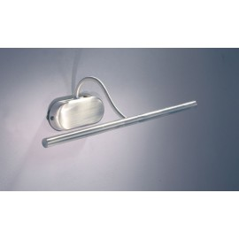 Litho picture light Satin Chrome