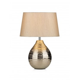 Gustav table lamp small in silver