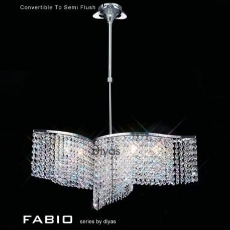 Diyas Fabio 6 light pendant