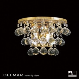 Diyas Delmar 2 light wall light