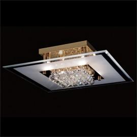 Diyas Delmar 6 light ceiling light square