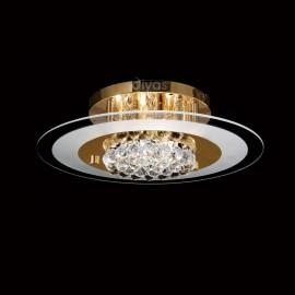 Diyas Delmar 6 light ceiling light circle