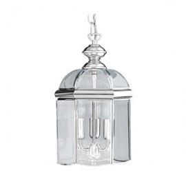 Searchlight 3 light chrome lantern