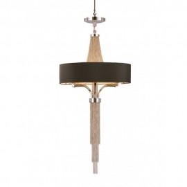 Libra Langan silver chain chandelier LIB036165 Small