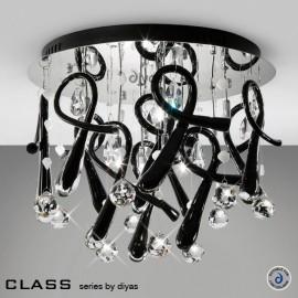 Diyas Class 10 light crystal ceiling light