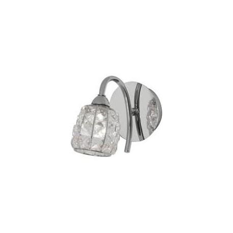 Oaks Lighting 5157-1CH Naira wall light in chrome
