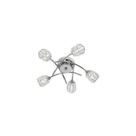 Oaks Lighting 5157-5CH Naira 5 light ceiling in chrome