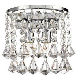 Searchlight 3302-2CC Hanna Wall light crystal prysm decoration