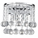 Searchlight 2402-2CC Hanna Wall light crystal ball decoration