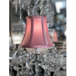 York Pink 5.5 inch candle shade