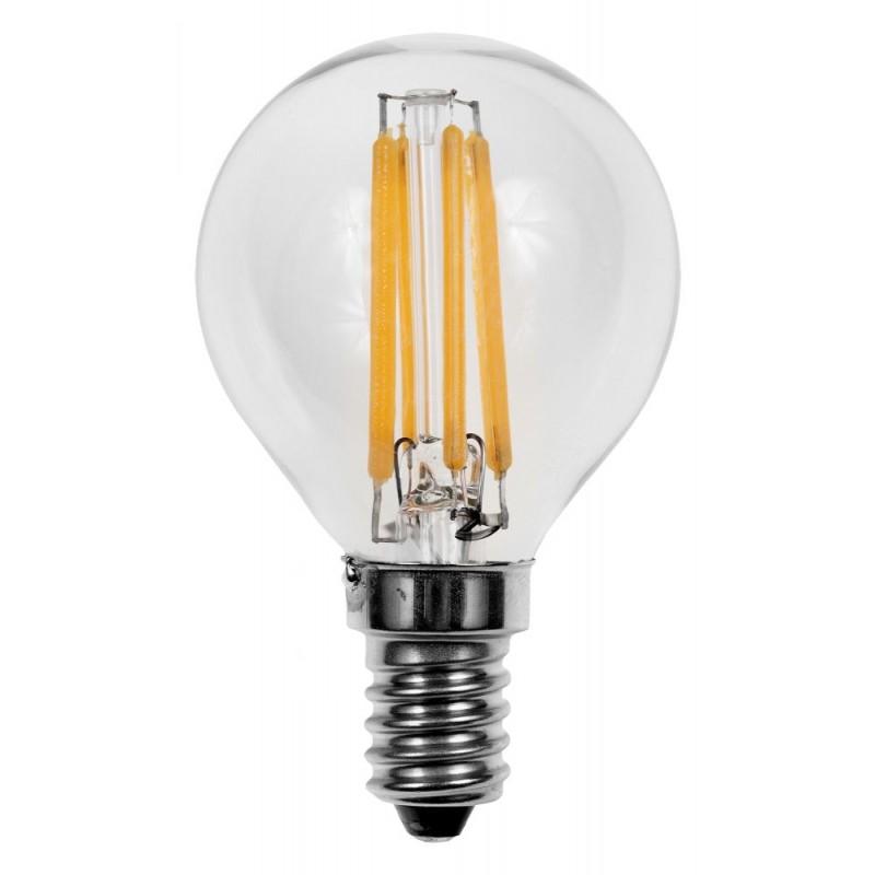 4w Dimmable Filament Golf Ball E14 Led Bulb Beardsmore