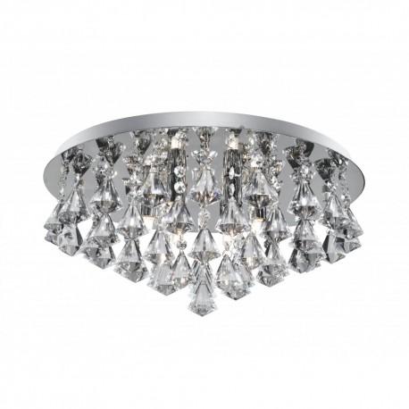 Searchlight Hanna 3308-8CC Chrome Crystal Light