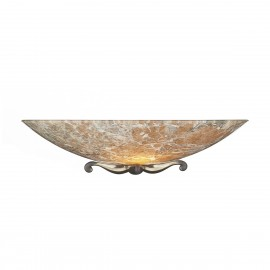 Savoy Glass Wall Washer Light Marble