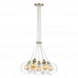 DAVID HUNT LIGHTING, Apollo 7 light in Butter brass