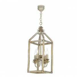 DAVID HUNT LIGHTING, Pagoda 4 light pendant light