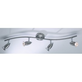Gemini 4lt bar spotlight satin chrome