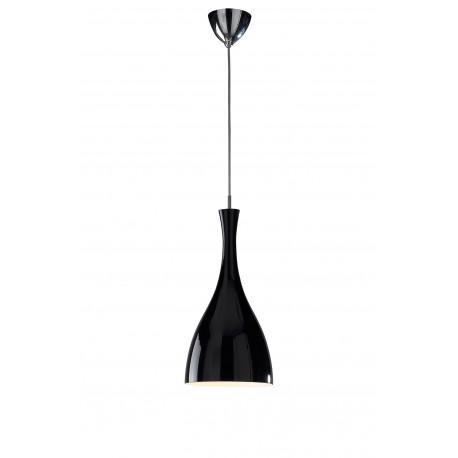 Tone glass pendant black