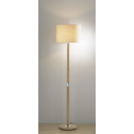 Avenue floor lamp Light Wood finish