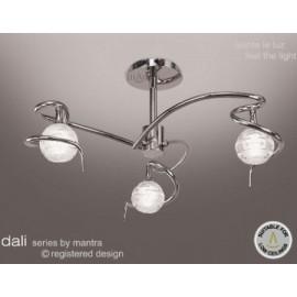 Dali 3 light flush polished chrome