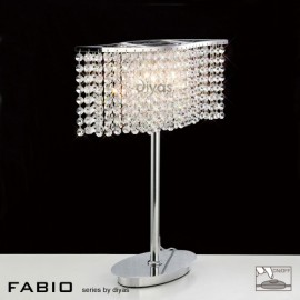 Diyas Fabio 2 light table lamp