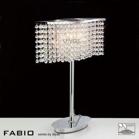 Diyas Fabio 2 light table lamp