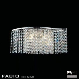 Diyas Fabio 2 light wall light
