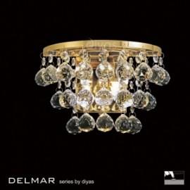 Diyas Delmar 2 light wall light
