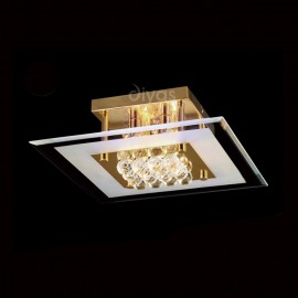 Diyas Delmar 4 light ceiling light