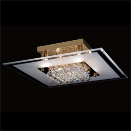 Diyas Delmar 6 light ceiling light square