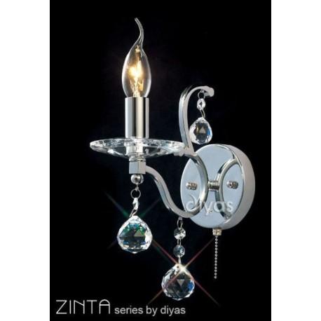 Diyas Zinta 1 light wall bracket