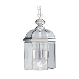 Searchlight 3 light chrome lantern