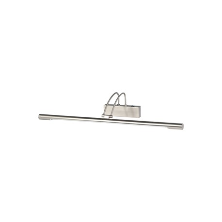 Searchlight 1 light Picture light satin silver finish