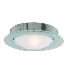 IP44 flush fitted bathroom light
