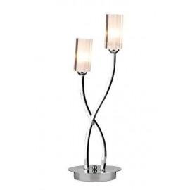 Dar Morgan polished chrome table lamp