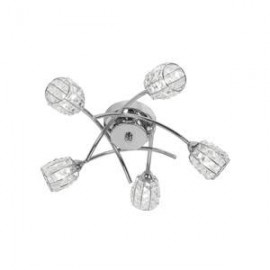 Oaks Lighting 5157-5CH Naira 5 light ceiling in chrome