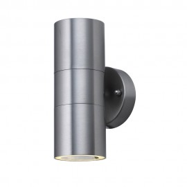 Searchlight 5008-2 Outdoor and porch double IP44 Stainless Steel light