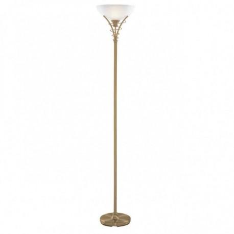 Searchlight 5222AB Linea Modern Floor uplighter antique brass