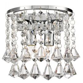 Searchlight 3302-2CC Hanna Wall light crystal prysm decoration