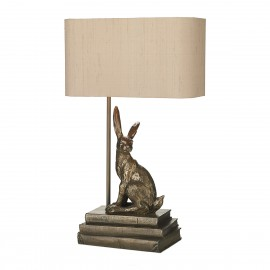 Hopper Table Lamp Bronze Base Only