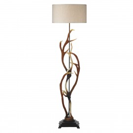 Antler floor lamp David hunt lighting