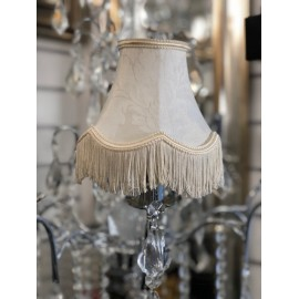 Ivory 5 inch candle shade