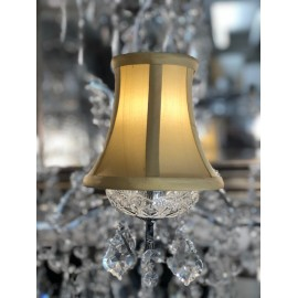 YORK Soft Gold 5.5 INCH CANDLE SHADE