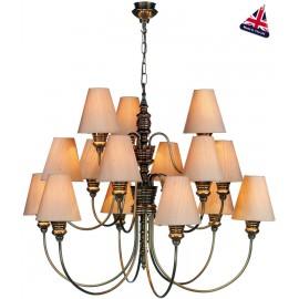 Doreen 15 light ceiling pendant
