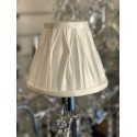 "ivory 6"" pinch pleat shade"