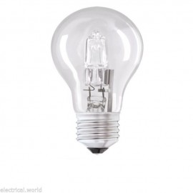 Halogen GLS ES 42W Energy Saving lamp 60W light output sold singly