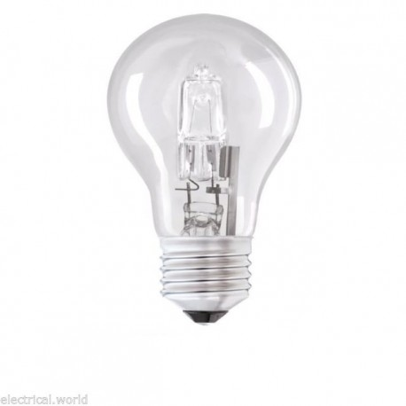Halogen GLS ES 70W Energy Saving lamp 100W light output sold singly