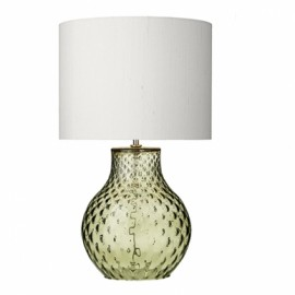 DAVID HUNT LIGHTING, Azores small green t/lamp (base only)