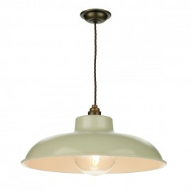 DAVID HUNT LIGHTING, Metro pendant  in French cream