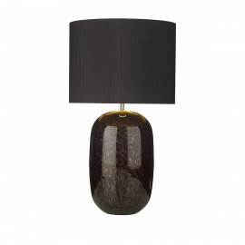 DAVID HUNT LIGHTING, Pura black t/lamp (base only)